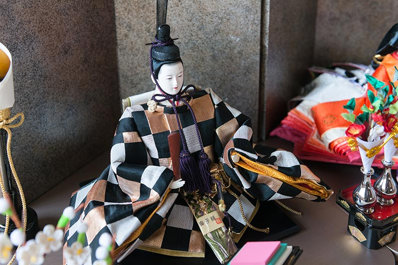 京風雛「彩織-SAISHIKI-」