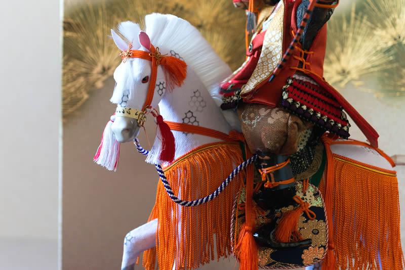 若武者人形「馬乗若武者」